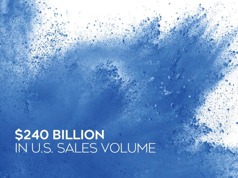 Coldwell Banker real estate sales volume